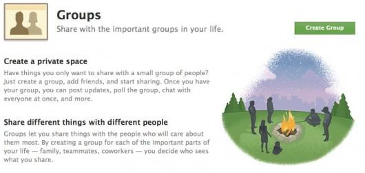 Information zu den neuen Facebook Gruppen unter facebook.com/groups