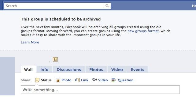 Das Aus für die alten Facebook Gruppen. (Migration bald möglich aber ohne die Mitglieder)