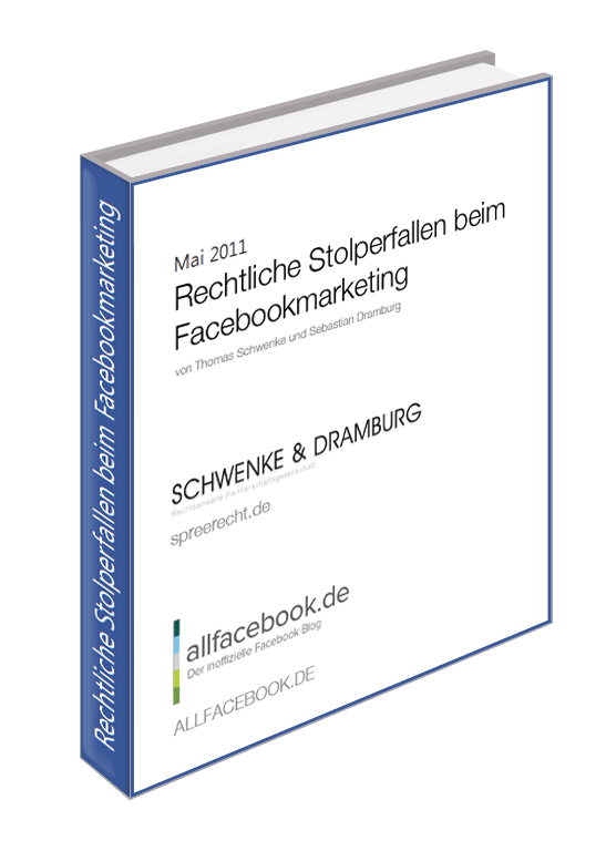 Download: Rechtliche Stolperfallen im Facebook Marketing – Das kostenlose E-Book