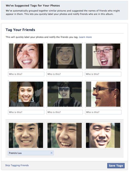 Facebook Gesichtserkennung – Gerechtfertigter Skandal oder viel Wind um nichts?