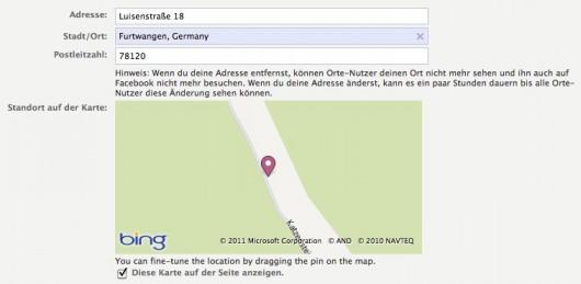 Bing Map im Backend: Funktioniert nicht in allen Browsern