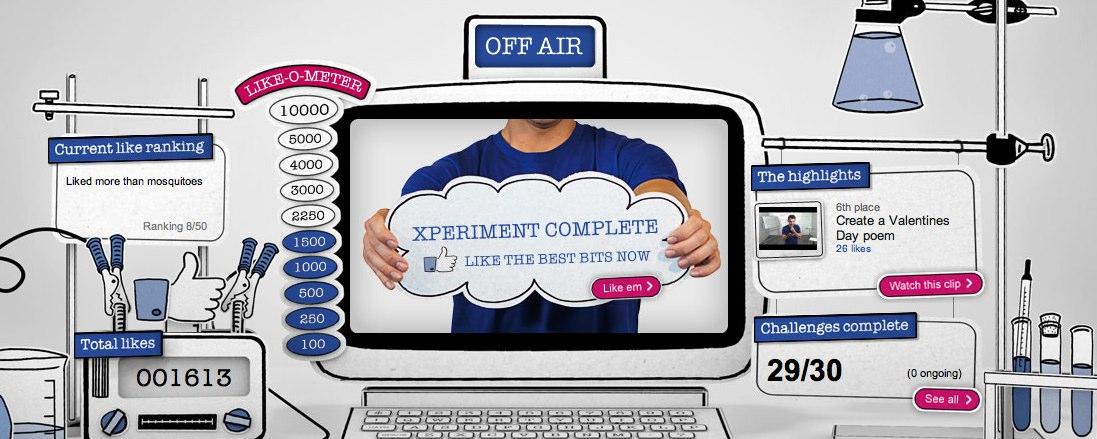 Case Study: Facebook Xperia Xperiments