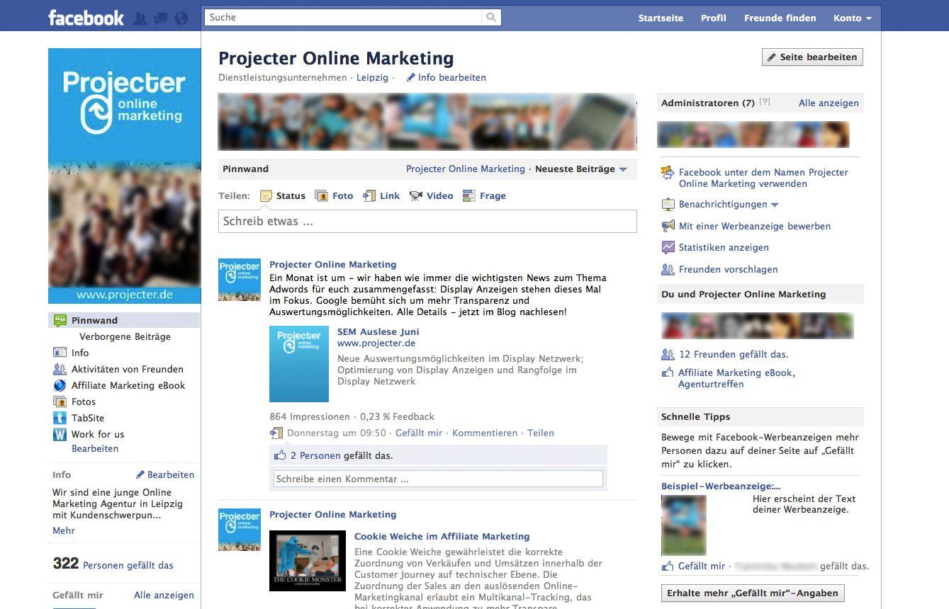 Facebook für Anfänger – Fanseite VS privates Profil