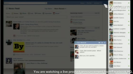 Facebook Launching Season 2011 – New Design