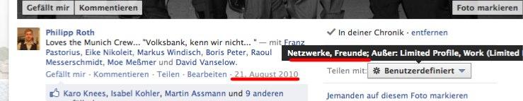 Aufpassen: Facebook hat die Sichtbarkeit für neue Fotouploads geändert (& für alle Inhalte mit markierten Personen)
