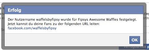 Facebook Vanity-URLs nun für alle verfügbar (auch ohne 25 Fans!)
