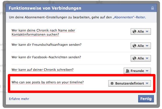 Facebook Mythbusters 02 – Fremde Personen können eure Aktivität im Ticker sehen