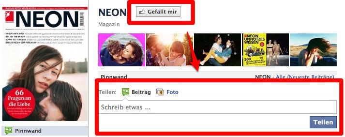 Kommentieren und posten auf Facebook Pages jetzt auch ohne Fan-werden möglich