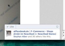 Recommendation Bar – neues Social Plugin von Facebook verfügbar (Beta)
