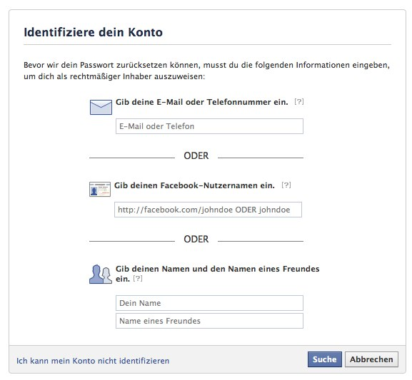 Facebook Account gehackt – Was nun?