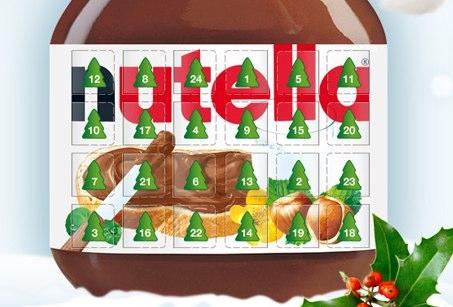 nutella: 130.000 neue Fans mit einem Adventskalender und passender Facebook Werbung