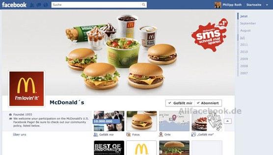 Einführung in die Facebook Chronik – Die Funktionen des neuen Facebook Profils im Überblick