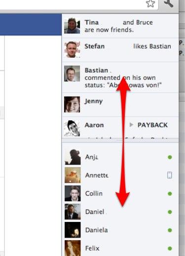 Wusstest du schon? – Facebook Ticker komplett verbergen / Chat & Ticker Aufteilung verändern