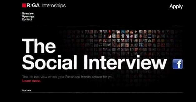 Vorstellungsgespräch auf Facebook: Social Interview