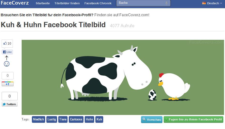 Facebook Chronik: Was Sie bei Coverbildern der neuen Facebook-Timeline rechtlich beachten müssen.