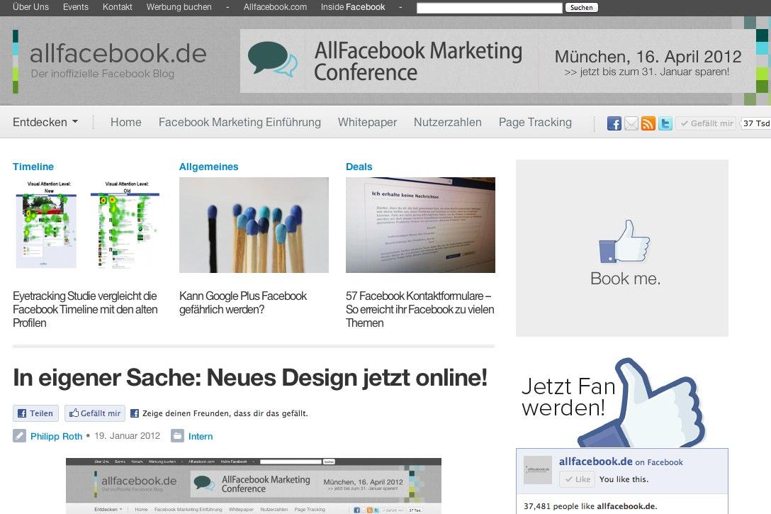 In eigener Sache: Neues Design jetzt online!