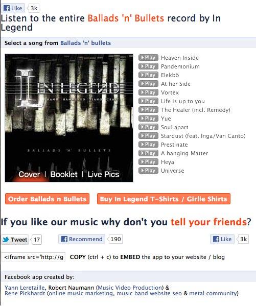 Was ist der beste Musikplayer für Facebook? (Bandmarketing Teil 4)