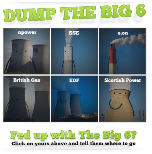 Screenshot: Dump the big six