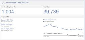"""Screenshot: Pagetab """"Likes!"""