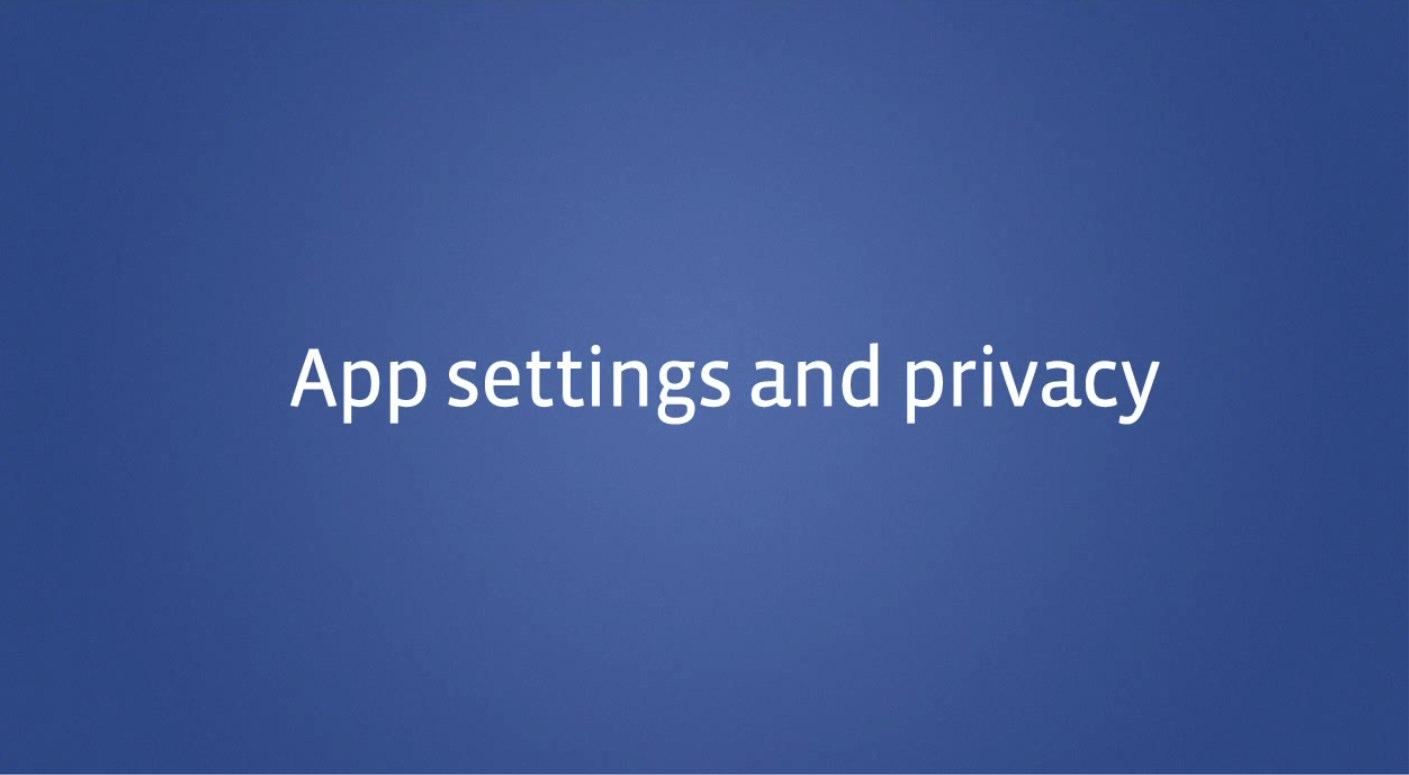 Video: Die Einstellungen der Privatsphäre für Timeline Anwendungen (Englisch)