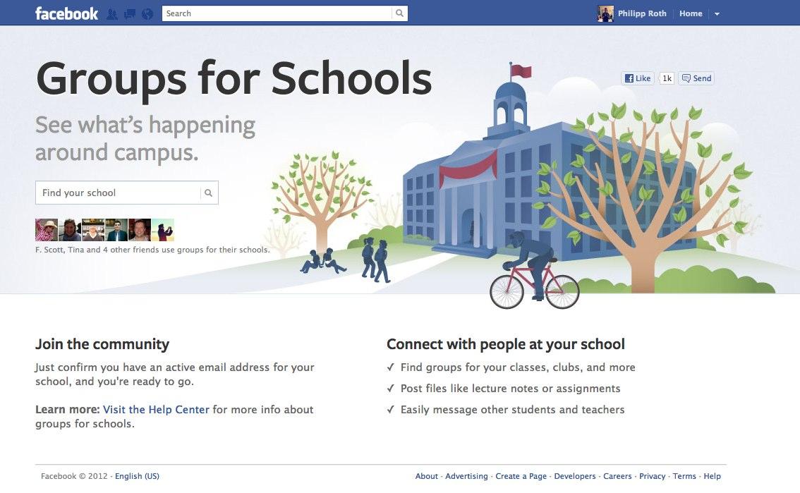 Neu: Facebook Gruppen für Universitäten
