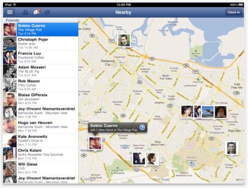 Facebook iPad / iPhone App in neuer Version erschienen