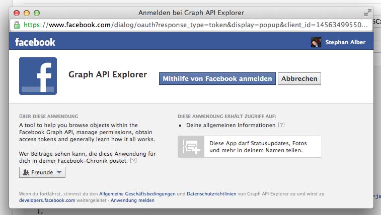 Facebook Apps: Veröffentlichung von Statusupdates nun ohne erweiterte Rechteabfrage möglich
