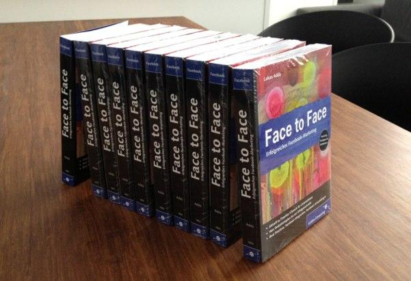 Gewinnspiel: 10x das Buch Face to Face – Erfolgreiches Facebook-Marketing