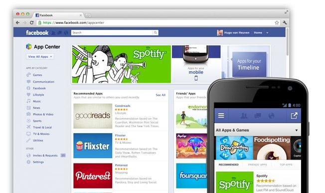 Facebook startet mit eigenem App Store