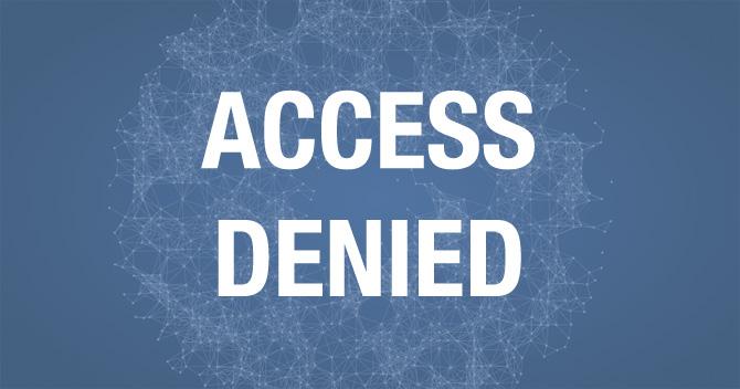 Facebook Bug: Roadblock sperrt Nutzer aus