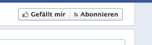 """Facebook testet """"Abonnieren Button"""" für Seiten. Verwirrung vorprogrammiert?"""