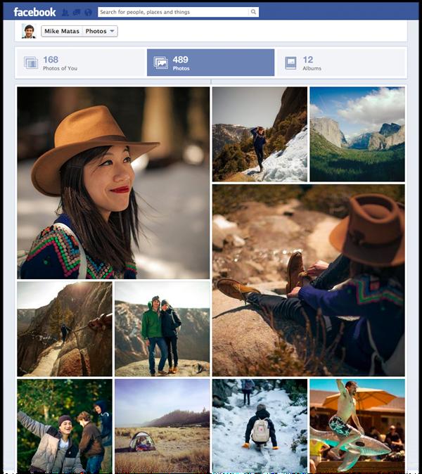 Facebook kündigt neue Fotoansicht für Timeline Profile an