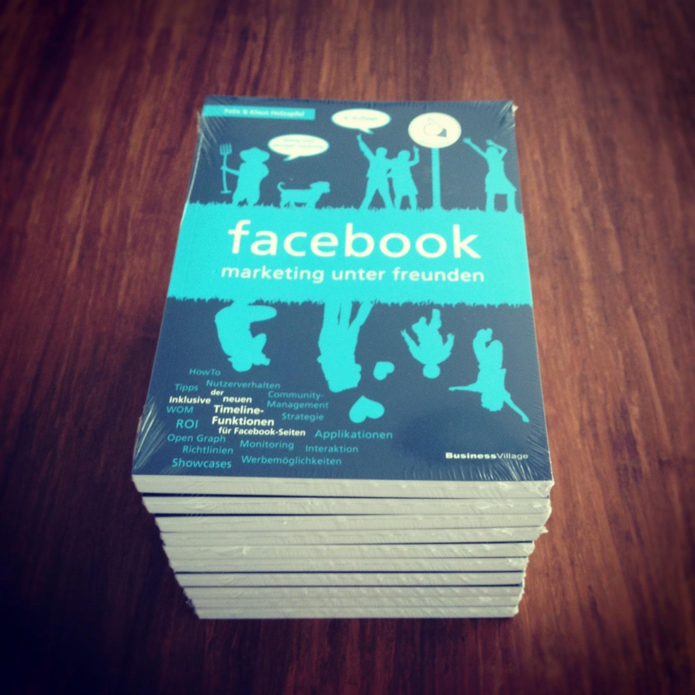 """Verlosung: 10x das Buch """"facebook – marketing unter freunden"""""""
