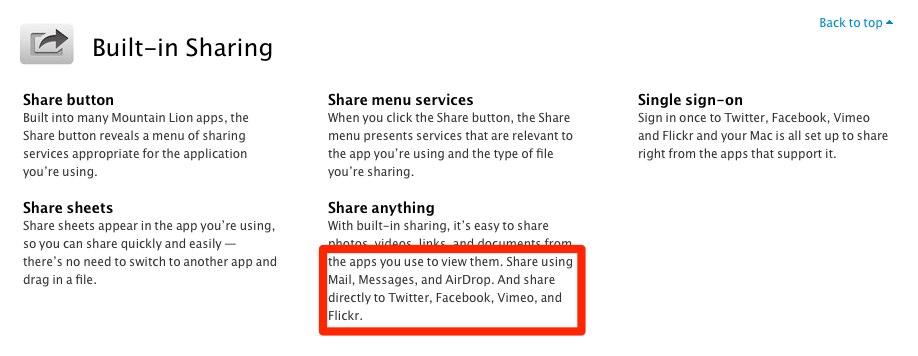 Mac OS Mountain Lion vorerst ohne Facebook Integration