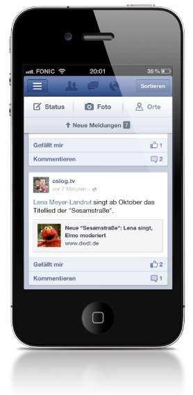 Facebook veröffentlicht komplett neue iOS App!