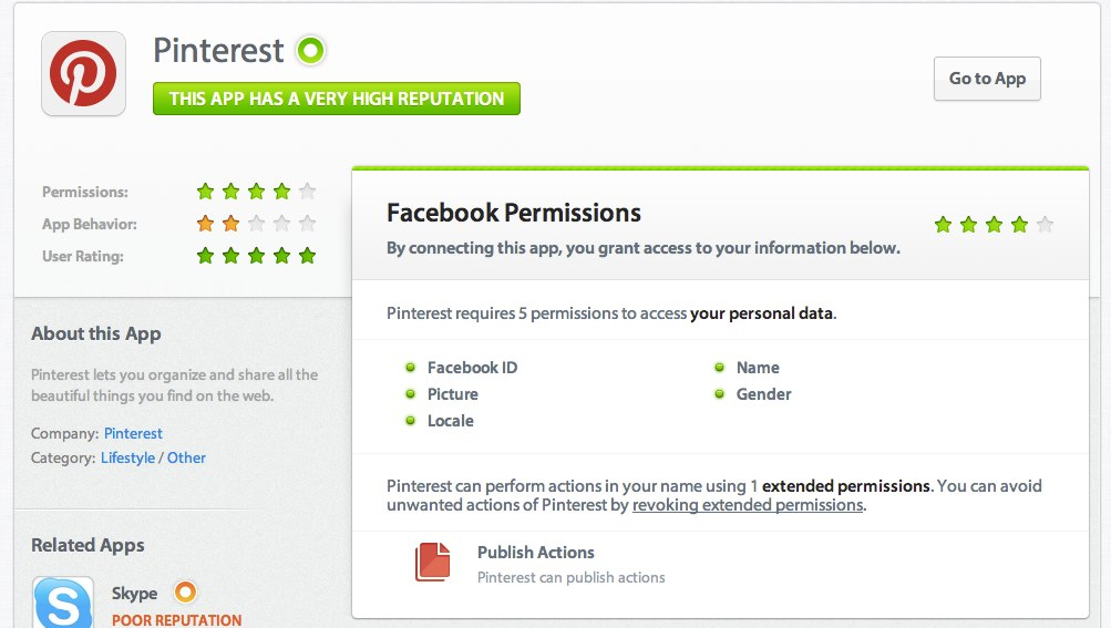 Mehr Sicherheit bei Facebook Apps – Secure.me zeigt wie vertrauenswürdig Facebook Anwendungen wirklich sind!