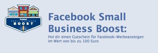 Facebook Ads testen und bis zu 100€ Mediabudget geschenkt bekommen