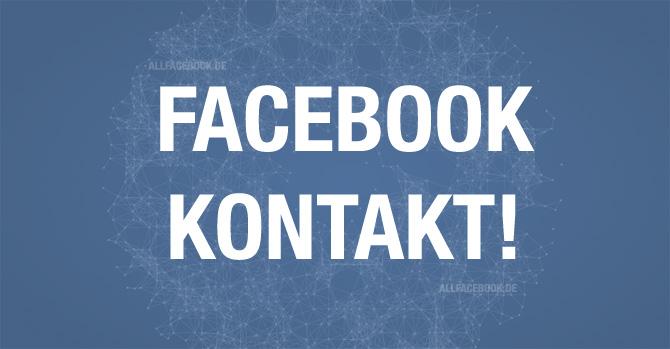 Erste Hilfe: Die 10 wichtigsten Facebook Kontaktformulare