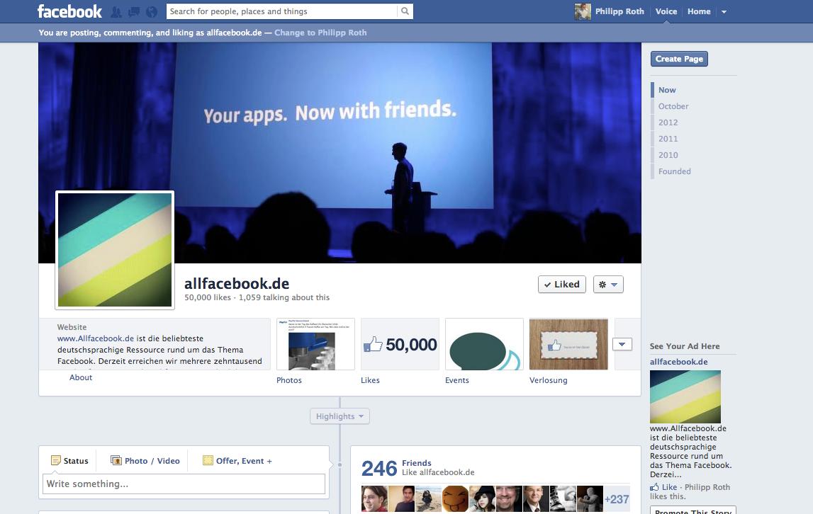 Wir sind jetzt 50.000!