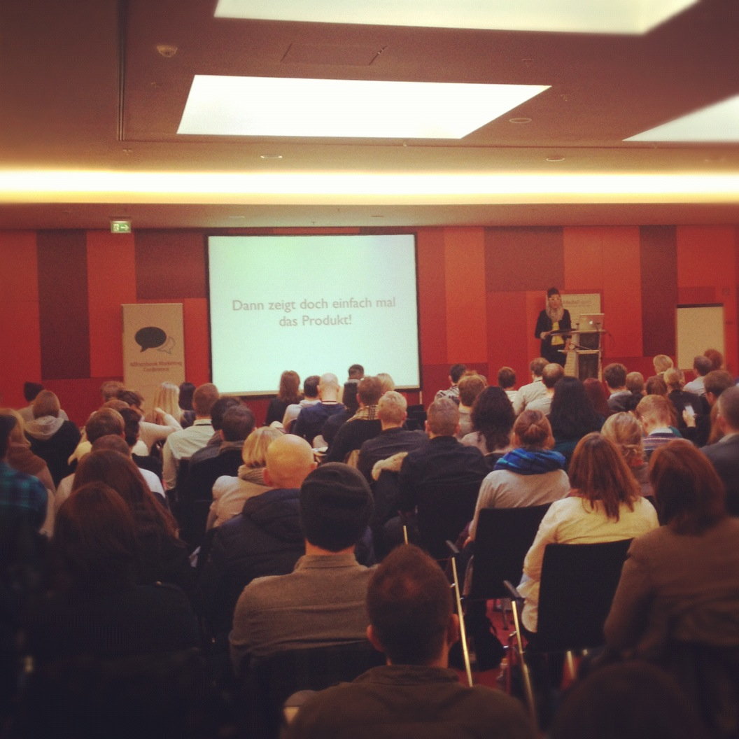 Wider den sinnlosen Post! – Eine Brandrede für authentische Markenkommunikation in Facebook (mit vielen peinlichen Beispielen) @ AllFacebook Marketing Conference / Berlin 2012