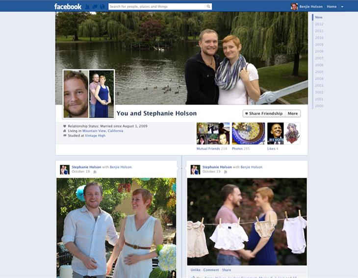 Die unterschätzten Facebook Freundschaftsseiten erhalten ein neues (Timeline) Design