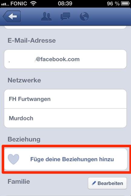 """""""Schluss machen"""" am Handy? Dank Facebook jetzt noch einfacher!"""