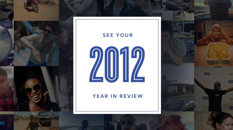 Dein persönlicher Jahresrückblick auf Facebook – Die 20 wichtigsten Momente des Jahres auf Facebook