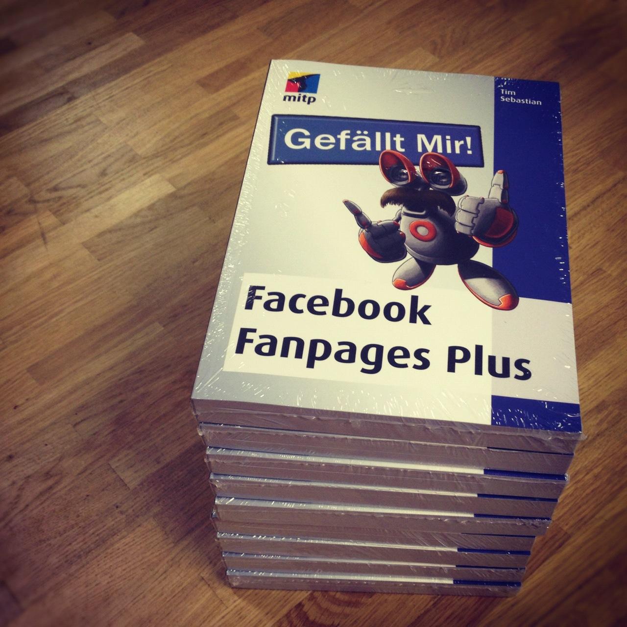 """Gewinnspiel: 10x ein Buch """"Facebook Fanpages Plus"""" vom mitp Verlag"""