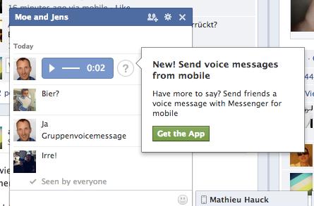 Neue Facebook für iOS App bringt Videoposts und Sprachnachrichten