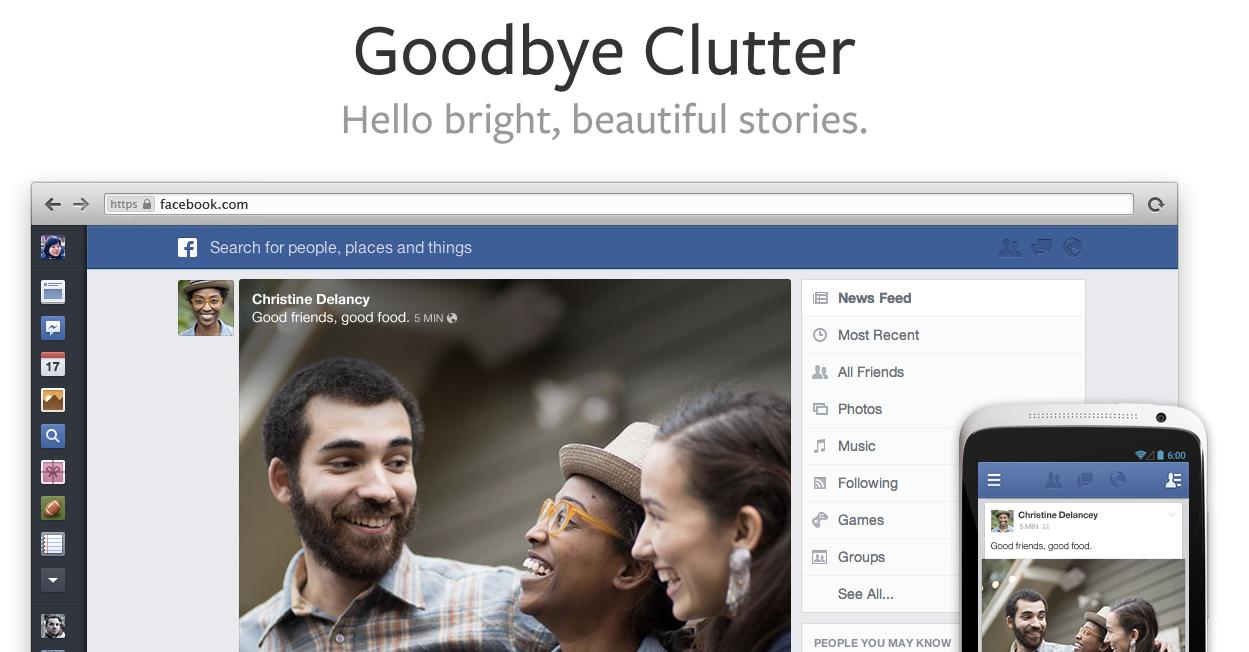 Alles zum neue Facebook Newsfeed – Einführung & Tour