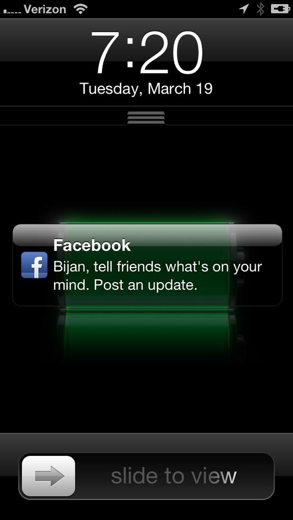 Facebook testet Push-Benachrichtigungen um Nutzer zu neuen Updates zu motivieren