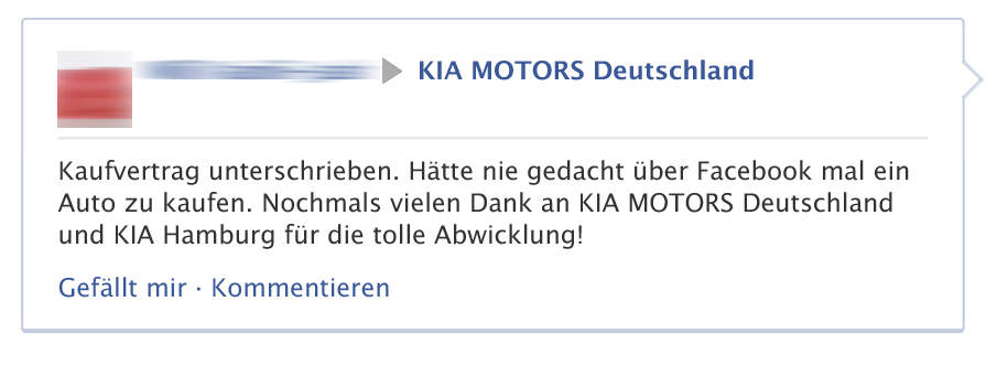 Interview: KIA MOTORS Deutschland auf Facebook