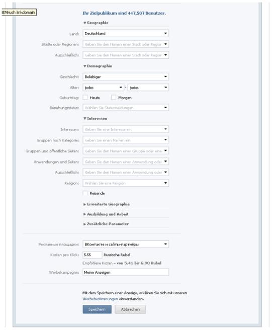 VKontakte-Ad-Targeting