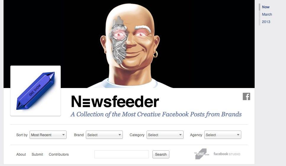 Newsfeeder.com zeigt Facebook Best Practice für den Newsfeed